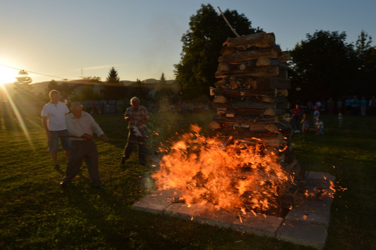 Vatra SNP v Haliči 1