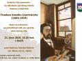 Pozvánka na odhalenie pamätnej tabule