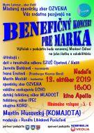 Benefičný koncertpre Marka Gála
