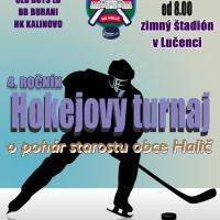Plagát hokejový turnaj